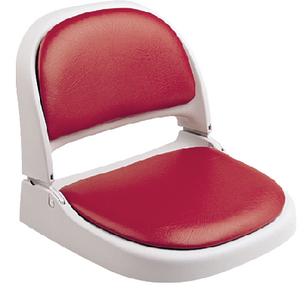 PF GRAY SEAT W/RED VINYL BACK