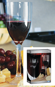 WINE GLASS 9 OZ 2PK BPA FREE