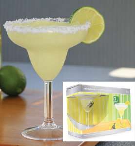MARGARITA GLASS 12 OZ 2/PK