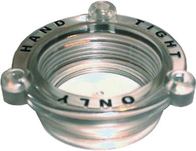 STRAINER CAP ARG 1/2 X 3/4