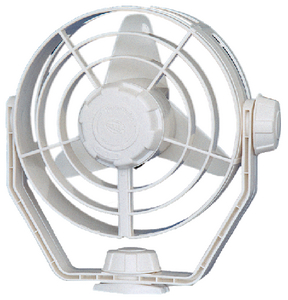 FAN 12V 2-SPEED TURBO WHITE