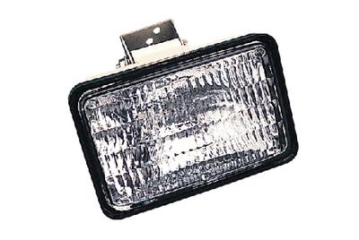 LAMP DECK 8518 WHITE FLUSH
