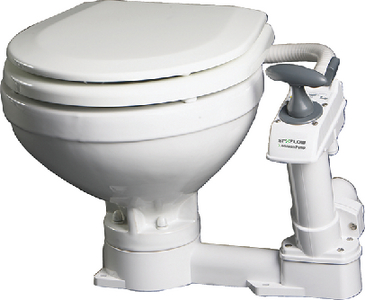 COMPACT MANUAL TOILET