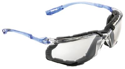 GLASSES SAFETY CLR LENS W/FOAM