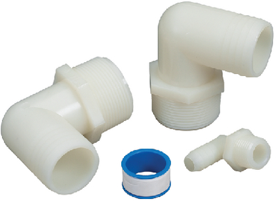 ADAPTER KIT-90DEG PIPE TO HOSE