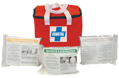 COASTAL FIRSTAID KIT NYL BAG
