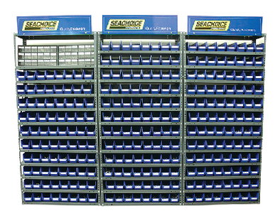 LARGE FASTENER DISPLAY 308 PCS