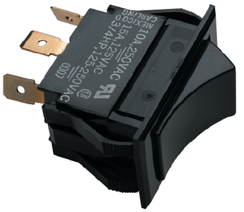 BILGE PUMP ROCKER SWITCH-(ON/