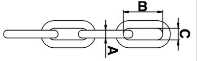 G43 LONG-LINK CHAIN-3/8 X200'