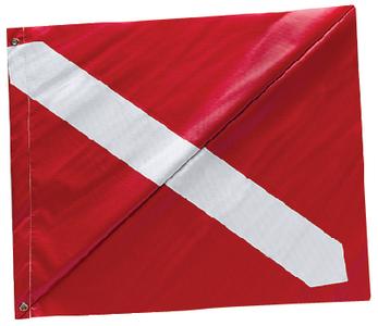 DIVER DOWN FLAG-VNL-20  X 24