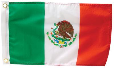 MEXICO FLAG 12 X 18