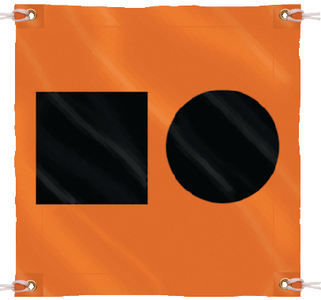 DISTRESS FLAG-3'X3'