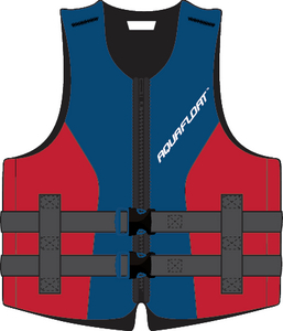 EVOPRENE PFD RED/BLUE M/L