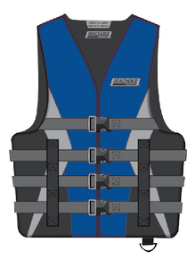 ADULT S/M SKIVEST BLU CAN ONLY