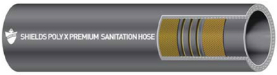 SANI HOSE 1 1/2IN X 12 1/2 FT