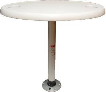 TABLE PKG- OVAL