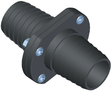 INLINE SCUPPER FITS 3/4IN HOSE