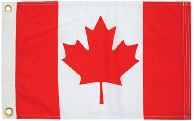 CANADIAN ENSIGN 12 X 24