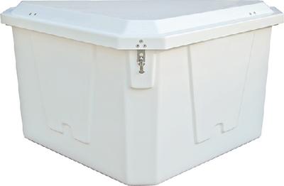 TRIANGLE DOCK BOX 54WX33DX27H
