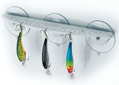 HOOK RACK 12 WHT