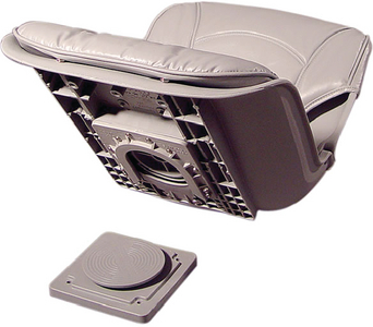 LOW BACK AW SEAT AND CUSHION