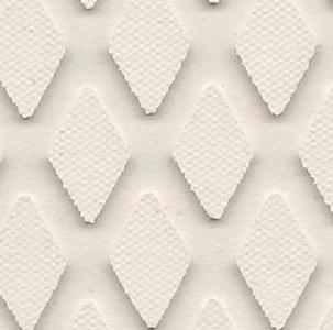 SHEET DIAMOND WHT