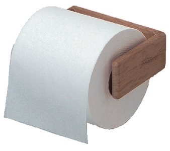 TEAK TOILET PAPER HOLDER