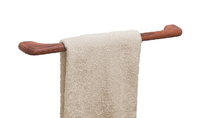TEAK TOWEL BAR 23