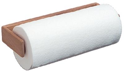 TEAK PAPER TOWEL HOLDER