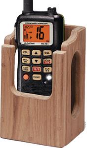TEAK RACK VHF/GPS
