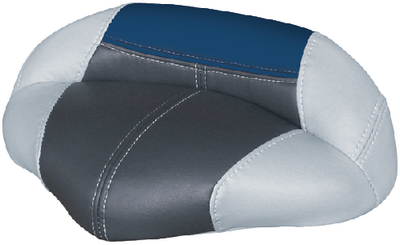 Grey//Charcoal//Navy Wise Boat Seat