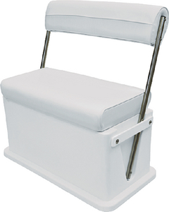 LIVEWELL COOLER SEAT WHITE