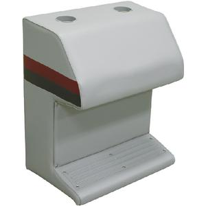 DLX CAP STAND-LT GY/RED/CHAR